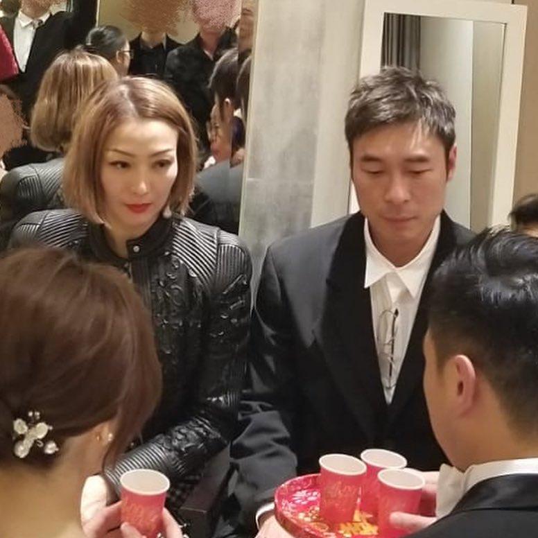 鄭秀文與許志安結婚近6年。資料圖片