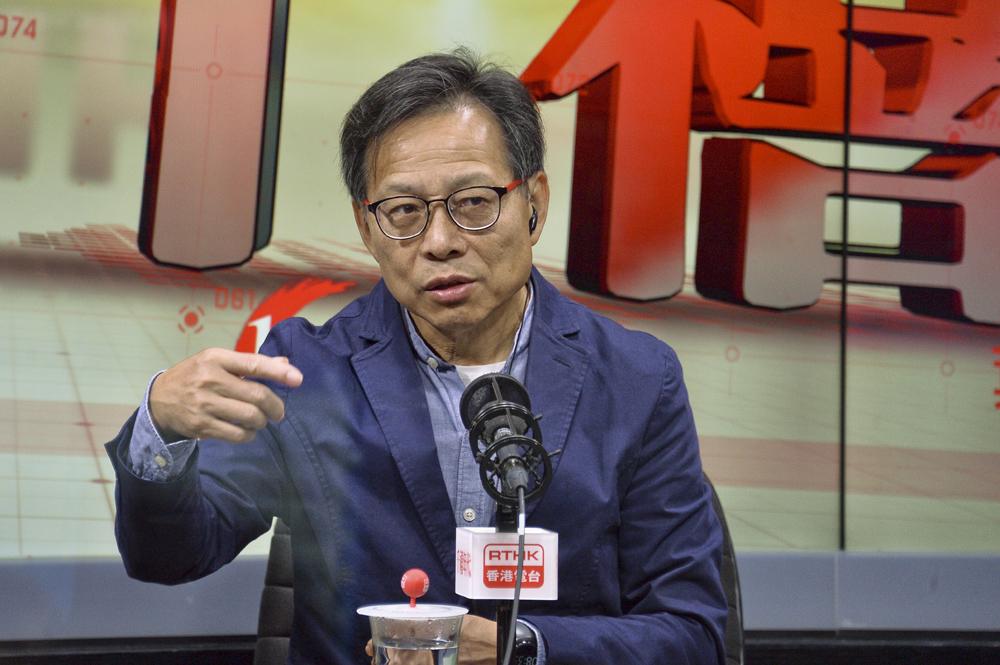 香港的士业议会主席熊永达。 资料图片