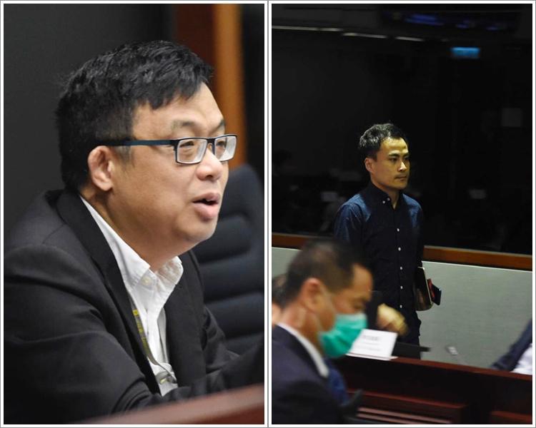 郭伟强被指冒犯,被涂谨申赶离场。