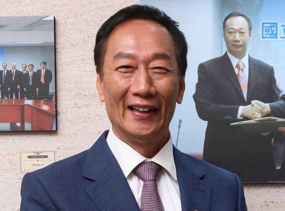 郭台铭最快这两天会决定是否参选总统。