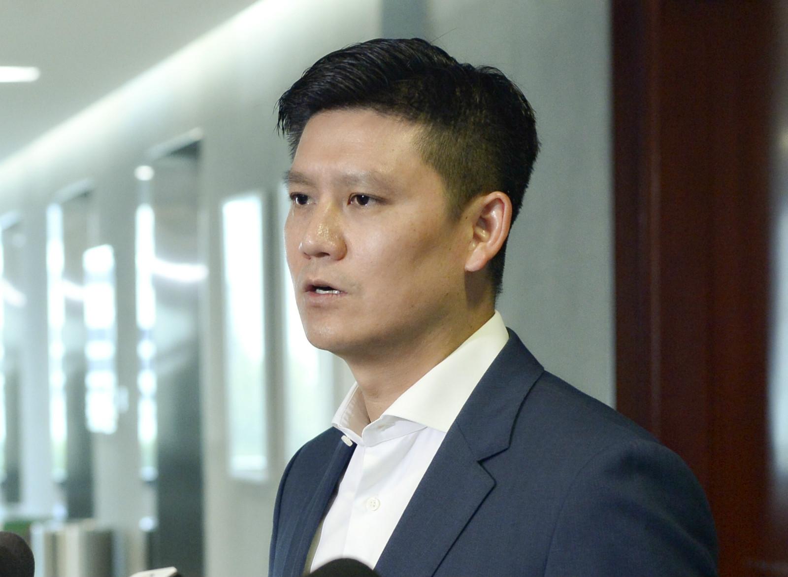 立法會議員譚文豪。資料圖片