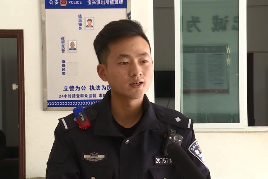 民警吳俊傑能夠為老百姓辦些實事感到欣慰。網上圖片