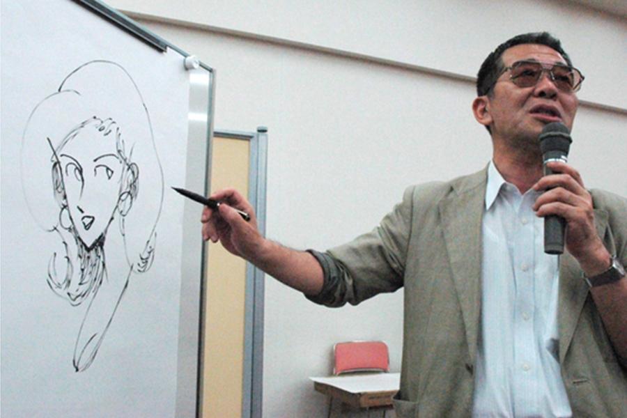 加藤一彦生前表示自己本来不擅长画女人。 网上图片