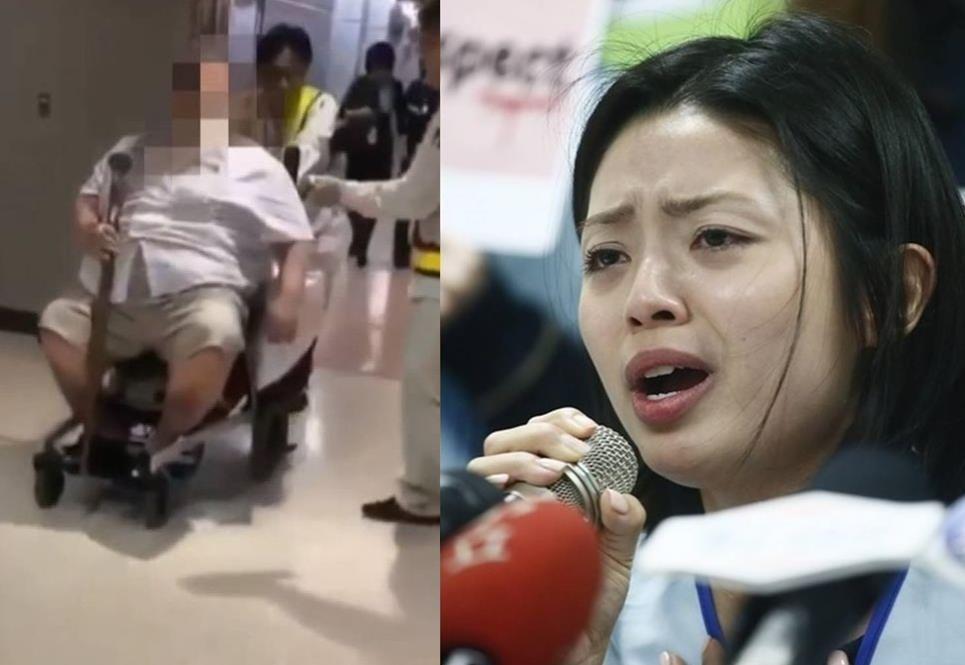 長榮空姐早前哭訴遭200公斤外籍男乘客要求「脫內褲及擦屁股」,令其心理受創傷。 資料圖片