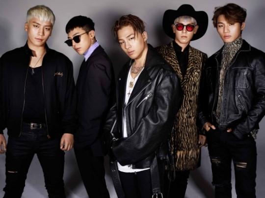 韓國組合BigBang。網圖