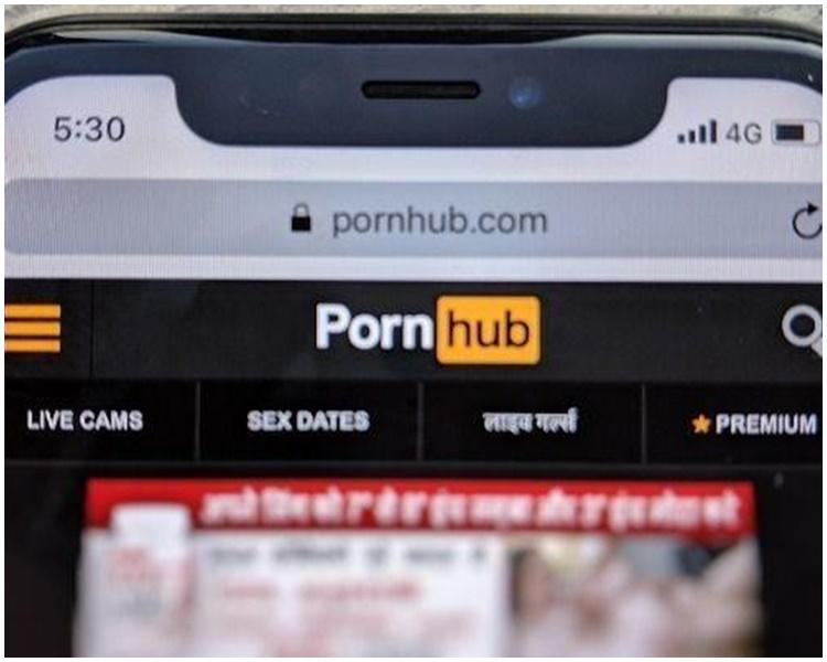 英国实施色情网站年龄核实制。示意图