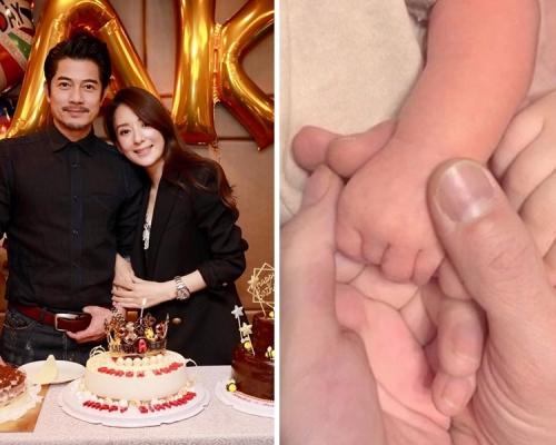 郭富城宣佈再做爸爸:二寶健康可愛