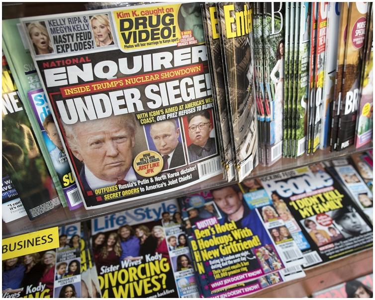 《國民問詢報》遭母公司美國傳媒賣走。AP