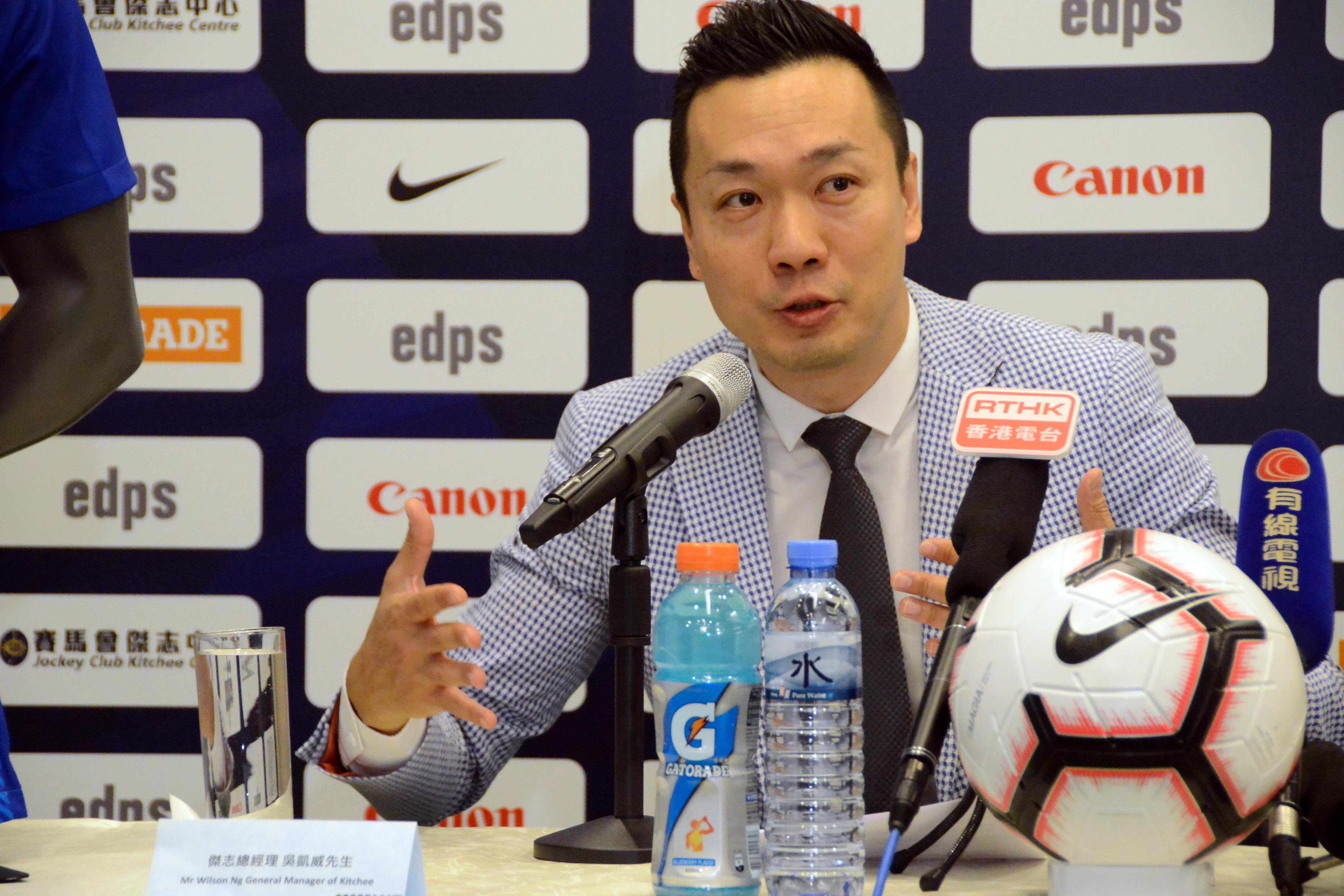 杰志总经理吴凯威指蓝月曾派人视察场地并感到满意。 冯梓健摄