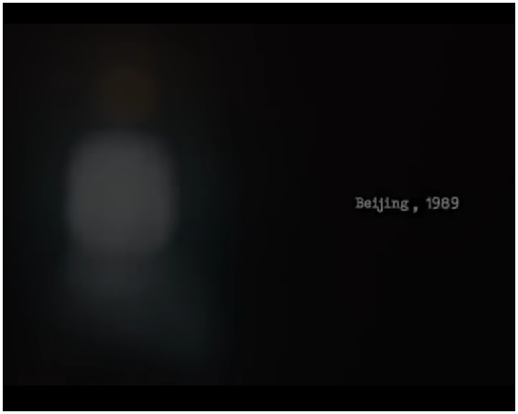 影片特別注明「北京,1989」。網圖