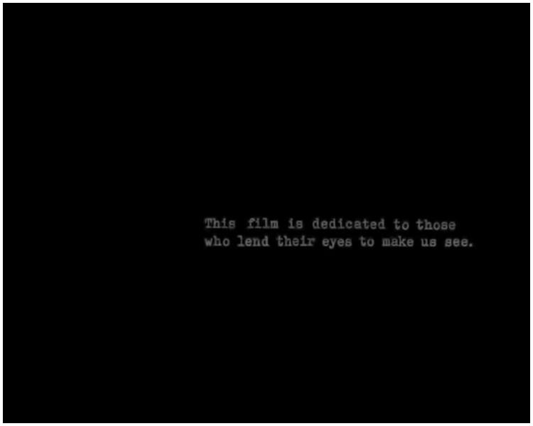 片末注明:「這段影片是獻給所有讓我們透過他們的眼睛看見歷史的人」。網圖