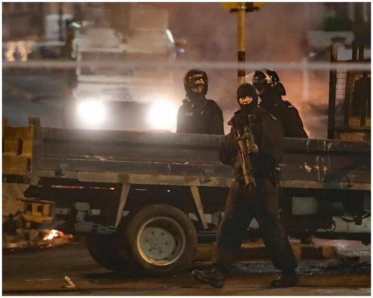 警方定义为恐布主义。