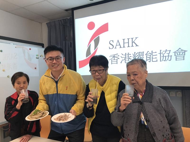 香港耀能協會研發一套「功能性進食運動」。