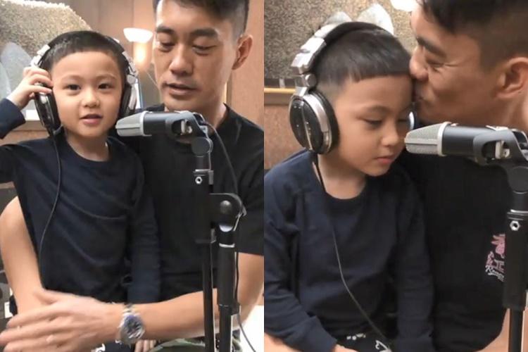 陳國坤這父子情令人超感動。