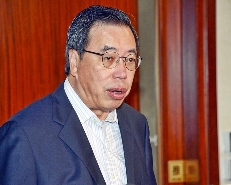 梁君彥對泛民7位議員退出感失望,但指不影響行程。資料圖片