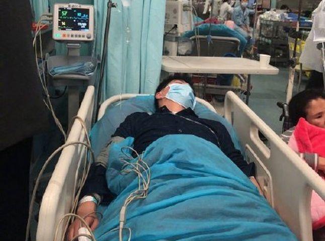 譚正華被診斷為腦部動脈瘤,情況危急。網圖