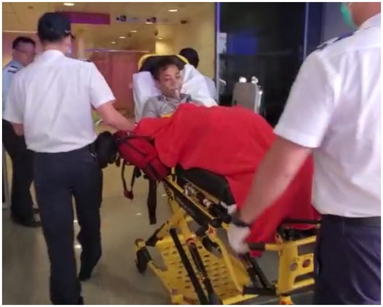 其中一名司機送往瑪嘉烈醫院治理。