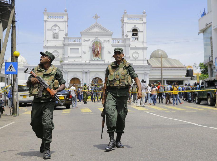 當局表示,採取搜捕行動後已拘捕7名疑犯。AP