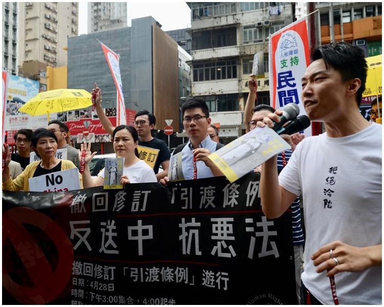 民陣呼籲市民下周日遊行。