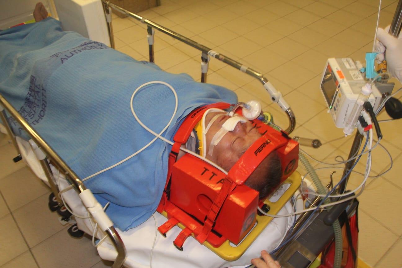 事主頭部受傷,昏迷送院搶救。
