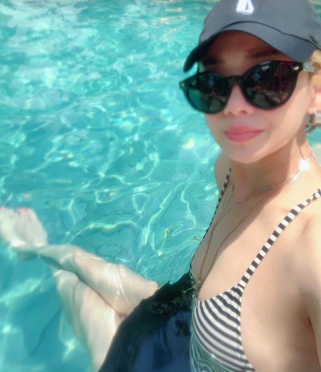 黃太亦在其IG貼出泳衣照。 kakainwonderland IG圖片