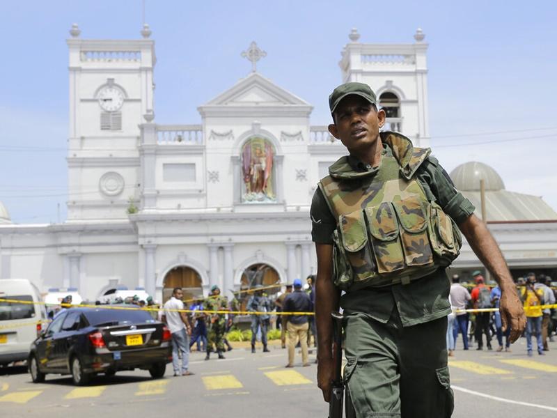特區政府對斯里蘭卡發出紅色外遊警示。AP