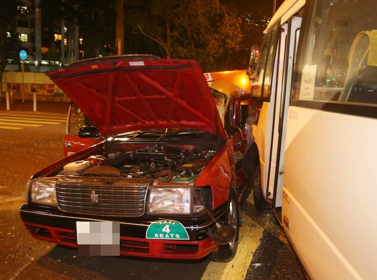 沙田大涌橋路發生奪命車禍。