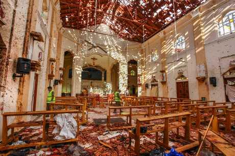 斯里兰卡国内极端伊斯兰组织「国家一神教团」,被点名是日前连串炸弹袭击的主谋。资料图片