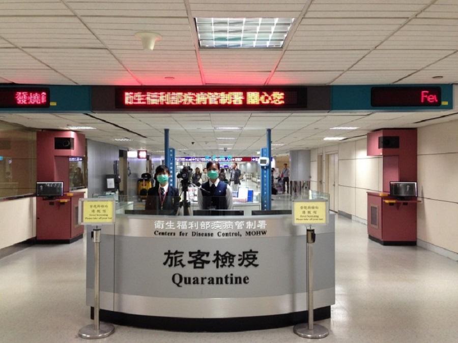 一名香港轉機返台灣旅客成「超級傳播者」將病毒傳8人。網上圖片