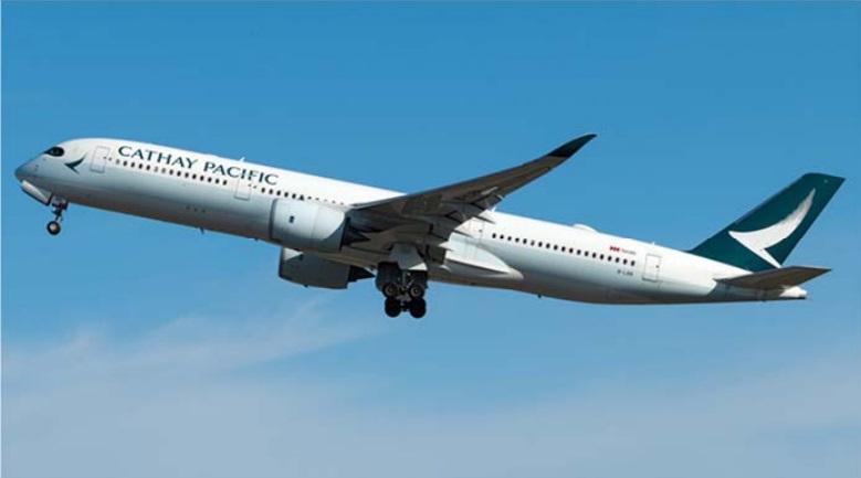 另一宗事故發生於2月21日由澳洲珀斯前往香港的空中巴士350-941型飛機