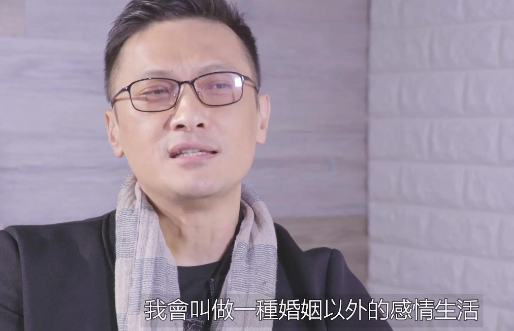 陳錦鴻在預告中,以孫逸的角度大談愛情觀。ViuTV fb影片截圖