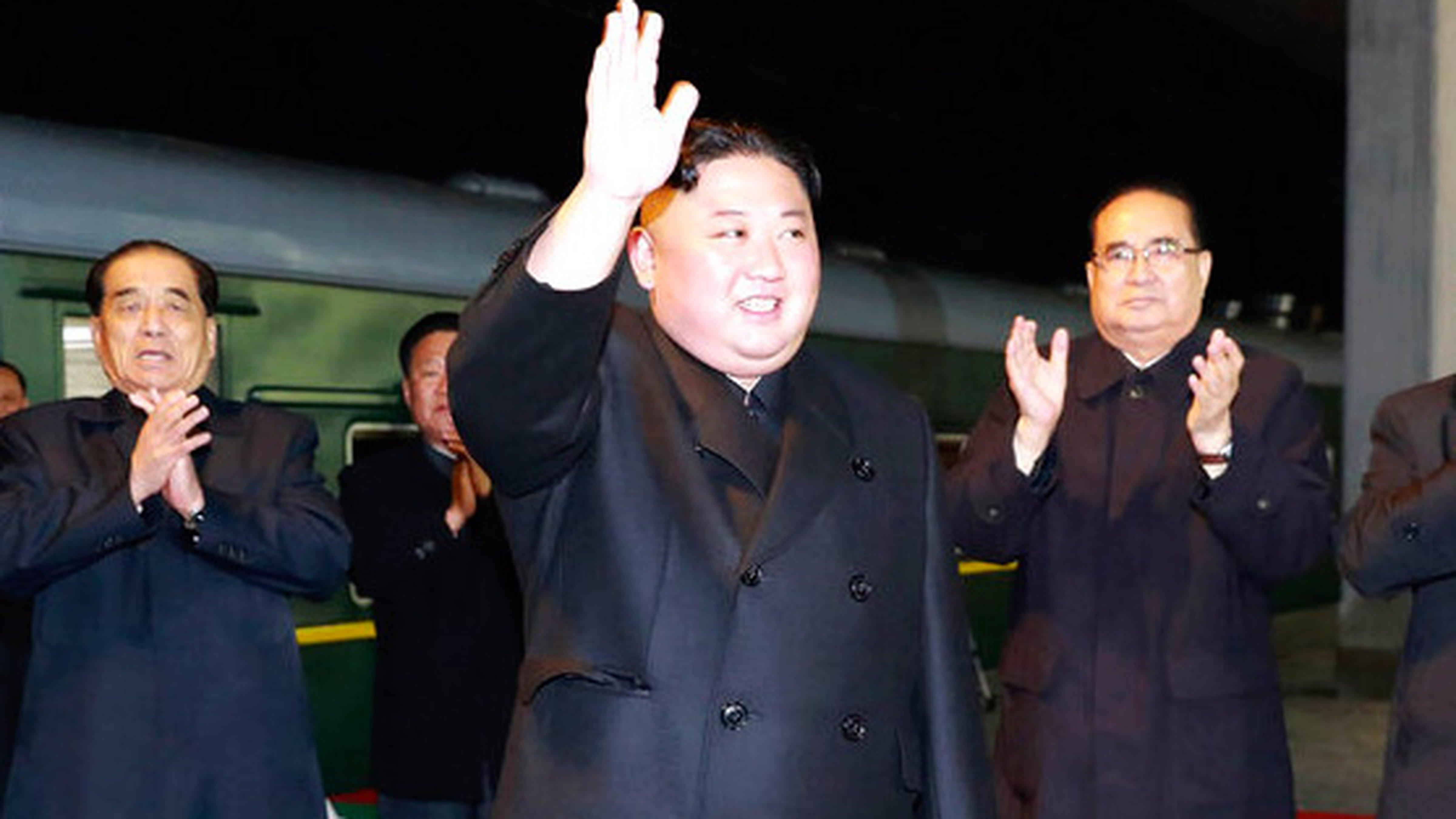 金正恩已经抵达俄罗斯。图片