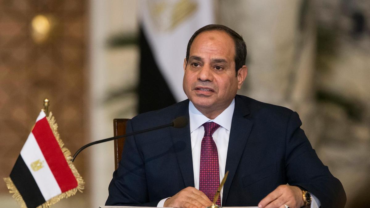 埃及总统塞西有望掌权至2030年。图片