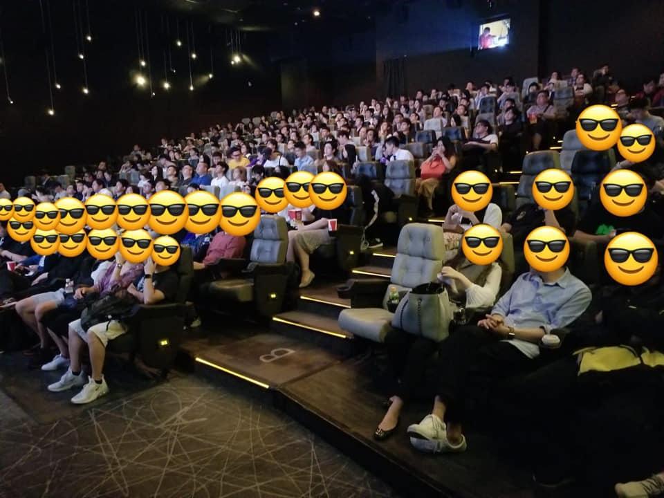 今早6點場全場爆滿。UA Cinemas FB圖片
