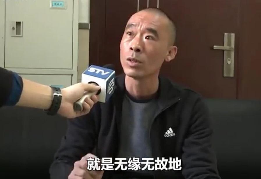 上海市民謝先生的支付寶被人綁定二維碼。網上圖片