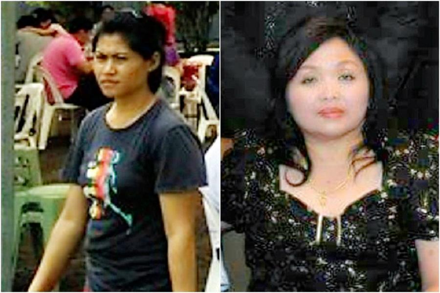 印傭(左)98刀斬殺新加坡女僱主。網上圖片