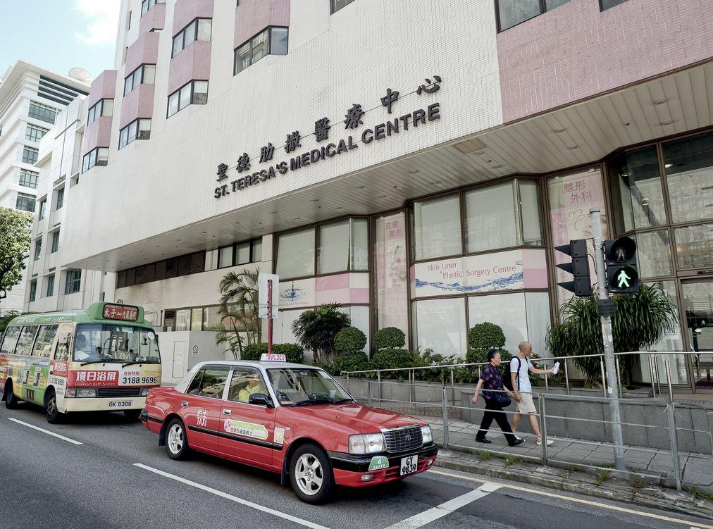 在病毒可傳染期間曾到訪聖德肋撒醫院門診部。資料圖片