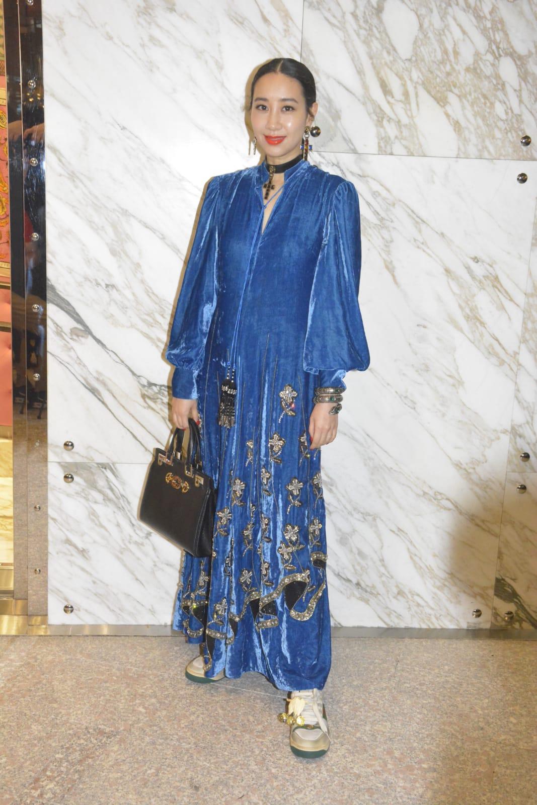 吳雨霏出席品牌活動。