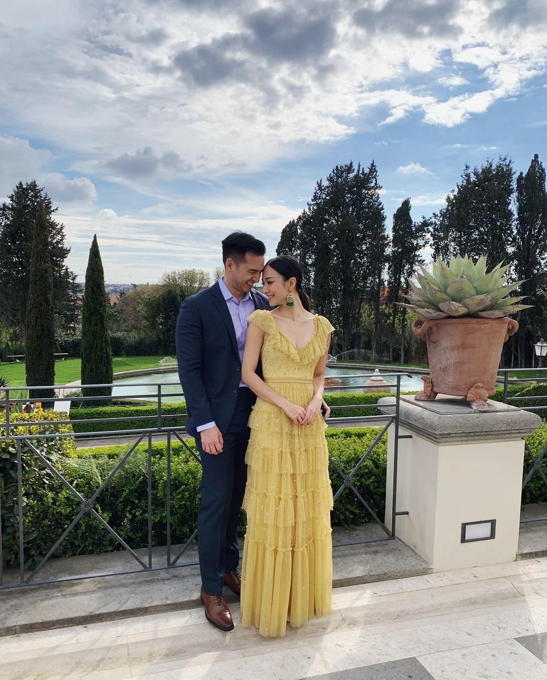 王君馨的老公Daniel亦有隨行。 王君馨IG圖片