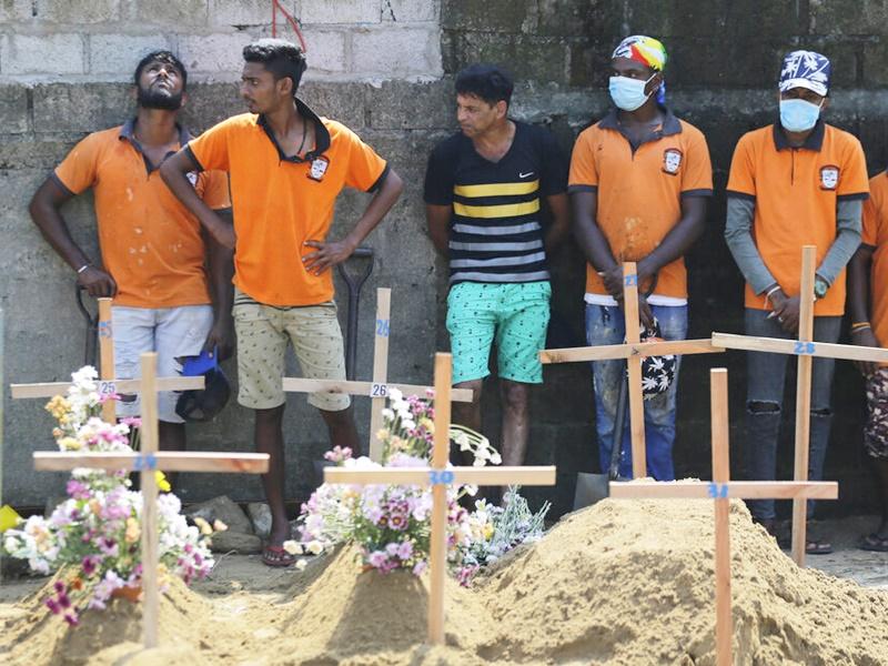 斯里兰卡连环炸弹袭击案震动全球。