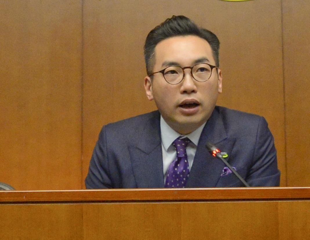 楊岳橋擬提私人草案擴闊香港域外法權處理台灣殺人案。 資料圖片
