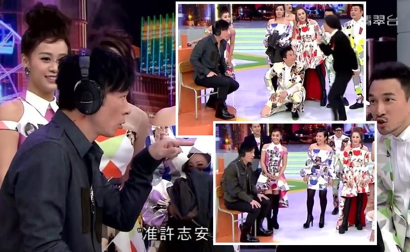 黃心穎與許志安曾在2016年綜藝節目《我愛香港》亮相。