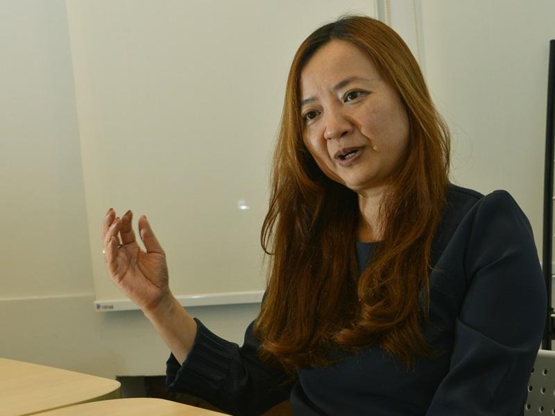 有線營運總裁梁淑儀在會後表示,集團暫未有裁員計劃。(資料圖片)