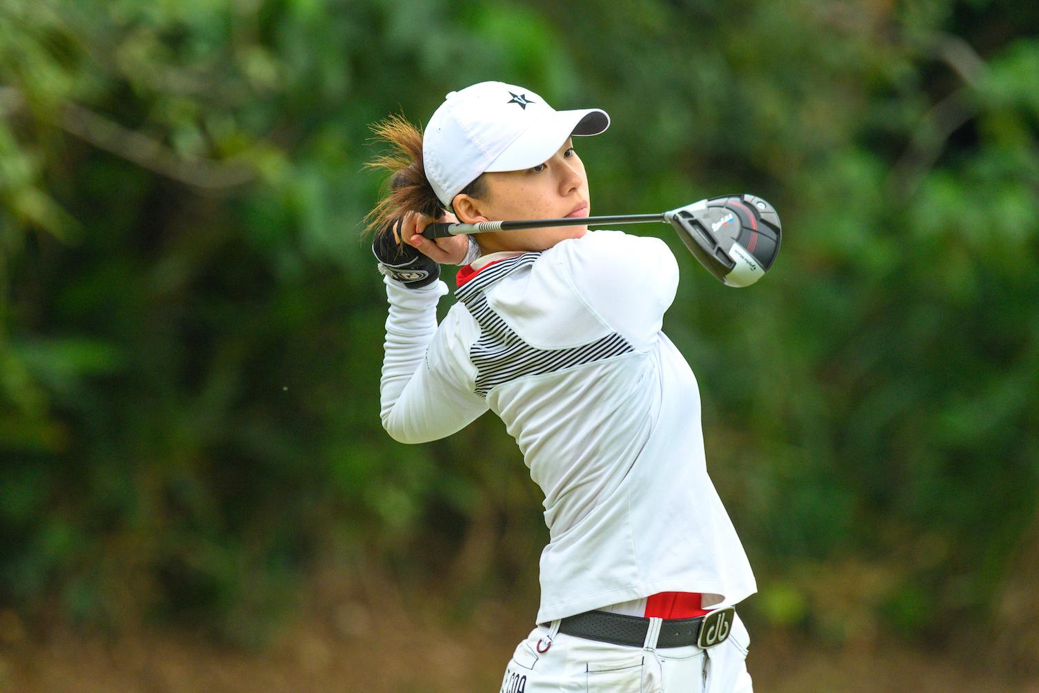 丁慧中是八名出戰香港女子高爾夫球公開賽的香港球手之一。相片由公關提供。