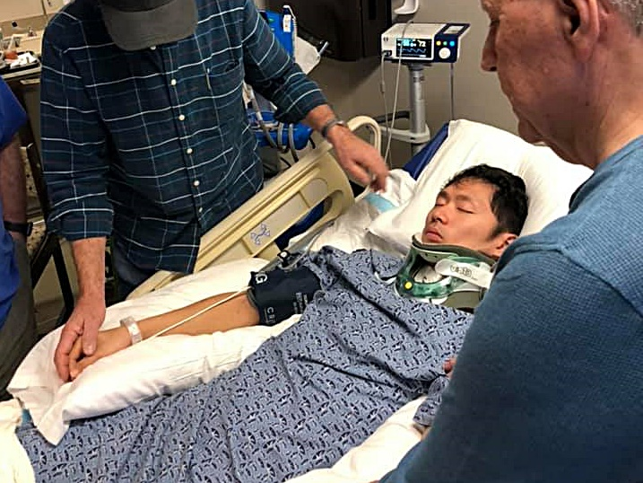 圖片:Facebook專頁「Pray for Jesher Tsz Fung Yau」