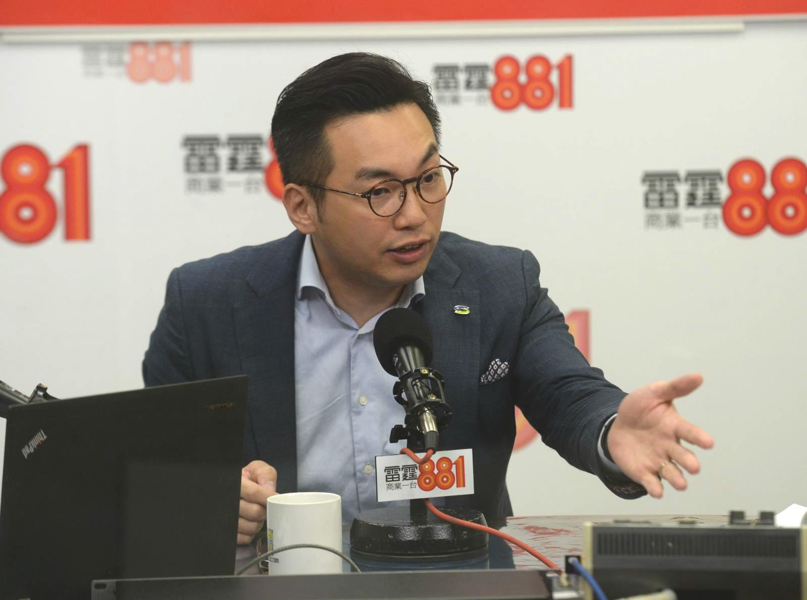公民黨楊岳橋指政府無回應「域外法權」問題。