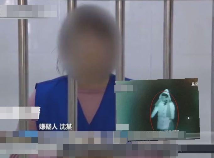 沈女涉嫌故意殺人目前已被捕。網圖