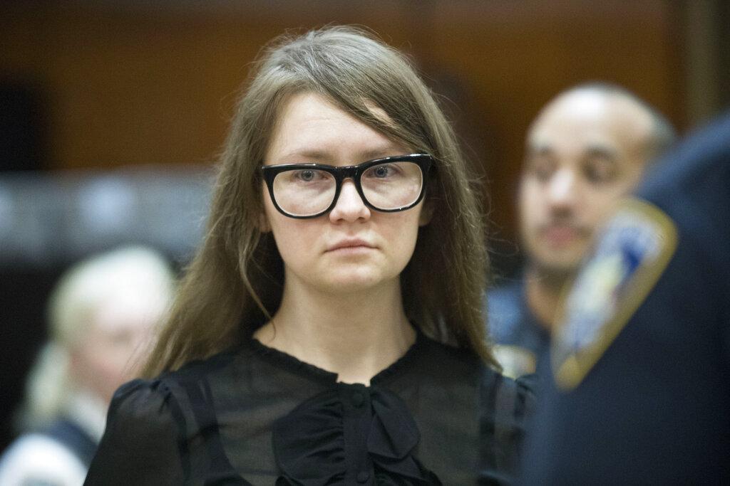 索罗金涉嫌冒充富家太子女在纽约招摇撞骗。 图片