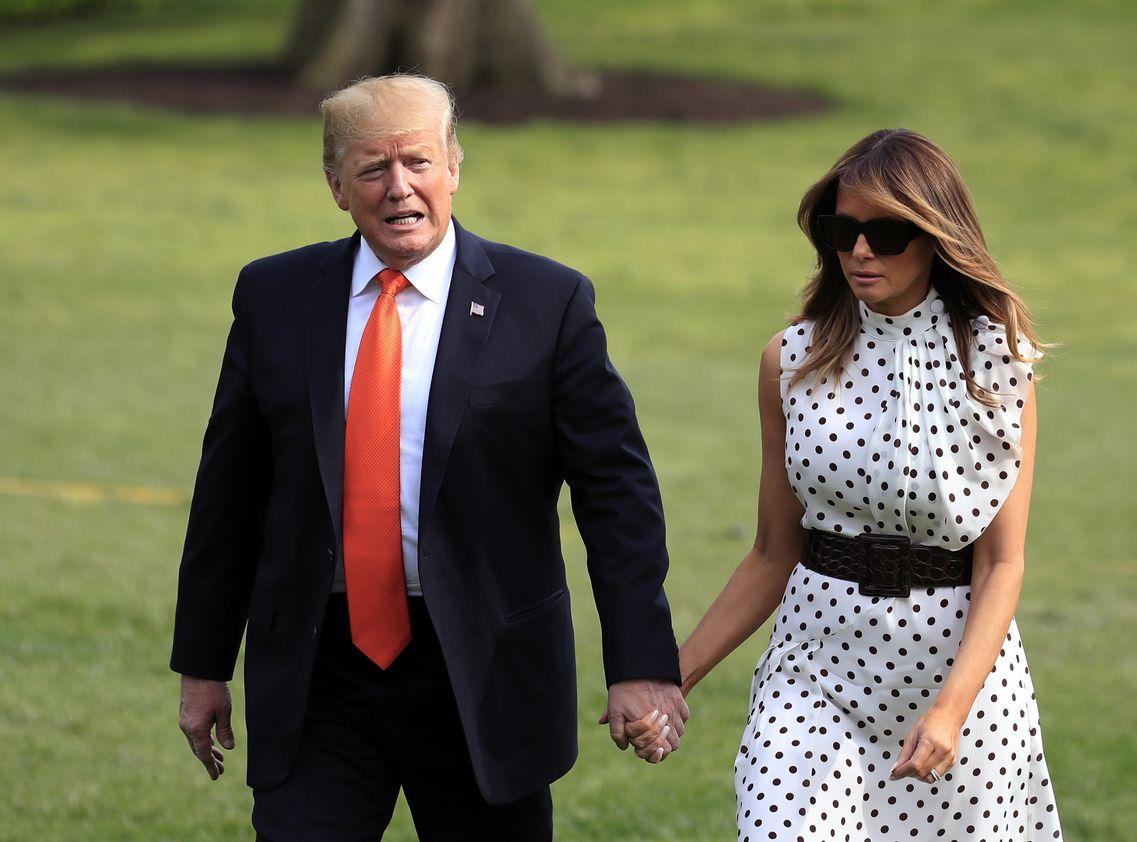 特朗普和梅拉尼娅将与安倍夫妇共进非正式晚餐。