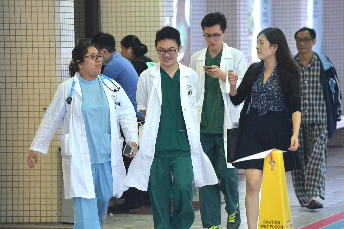 醫管局期望就海外醫生實習期達成平等合理各方接受方案。資料圖片